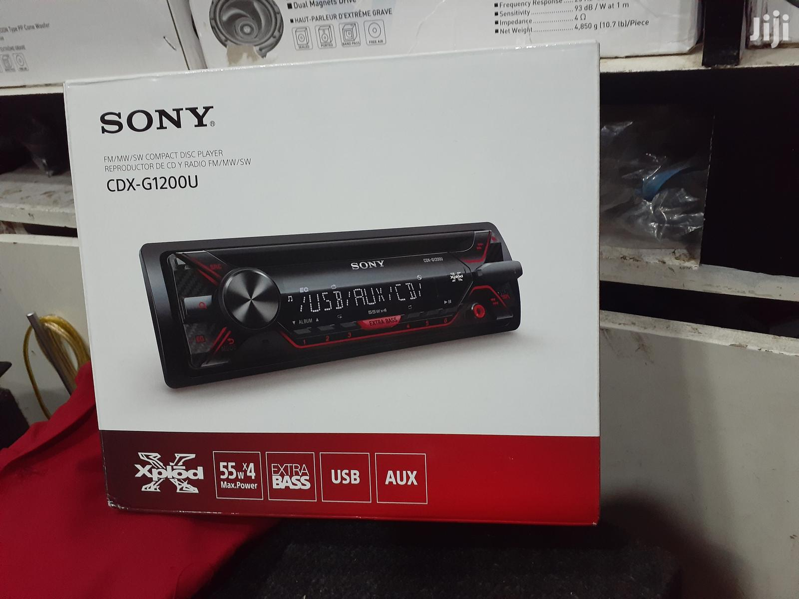 SONY Radio | Vehicle Parts & Accessories for sale in Nairobi Central, Nairobi, Kenya