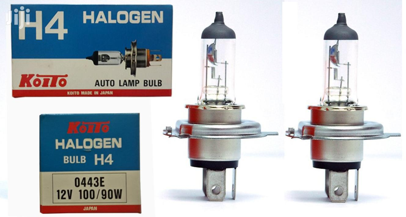 12v H4 Koito Japan 100/90w Bulbs: For Toyota,Ford,Nissan,Mazda,Subaru