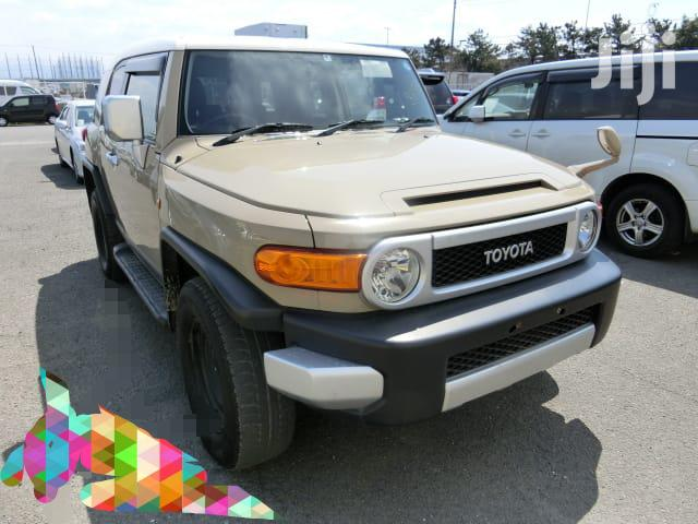Archive: Toyota FJ Cruiser 2012 Beige