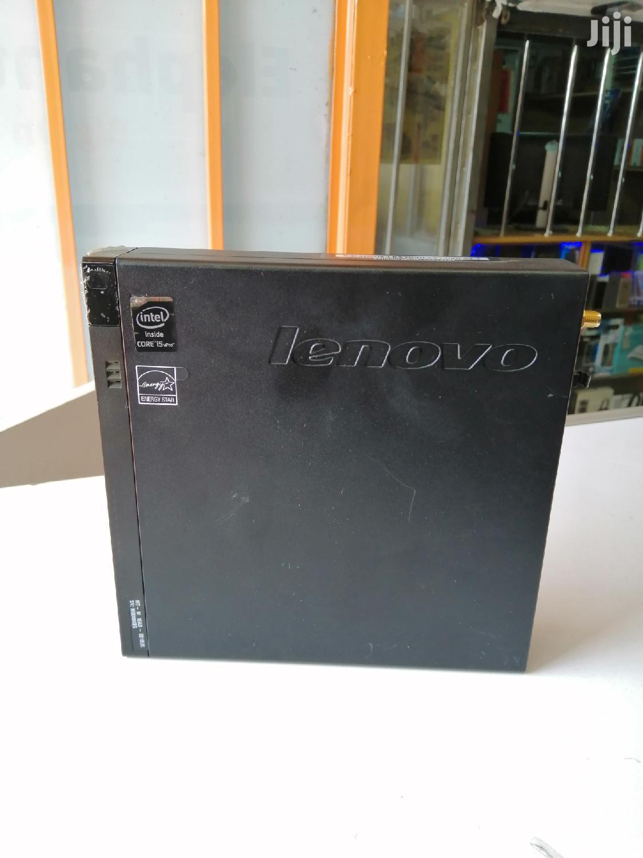Lenovo Thinkcentre M910 Tiny Desktop 500GB HDD Core I5 4GB Ram | Laptops & Computers for sale in Nairobi Central, Nairobi, Kenya