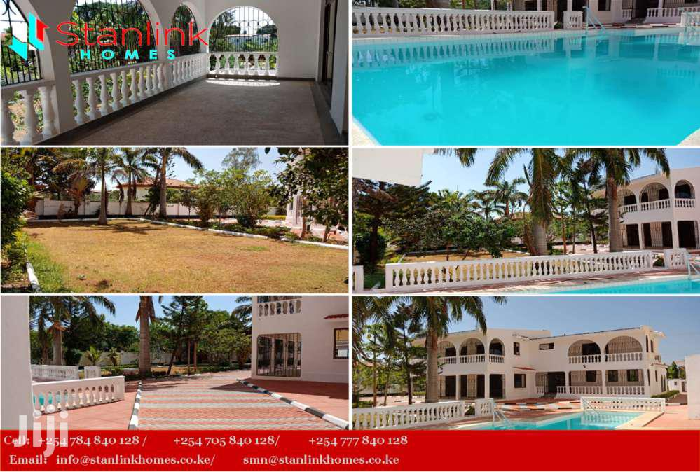 Own Compound 4 Bedroom Maisonette To Let, Nyali