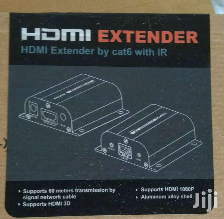 HDMI 60m Extender Over Single Cat5e/6
