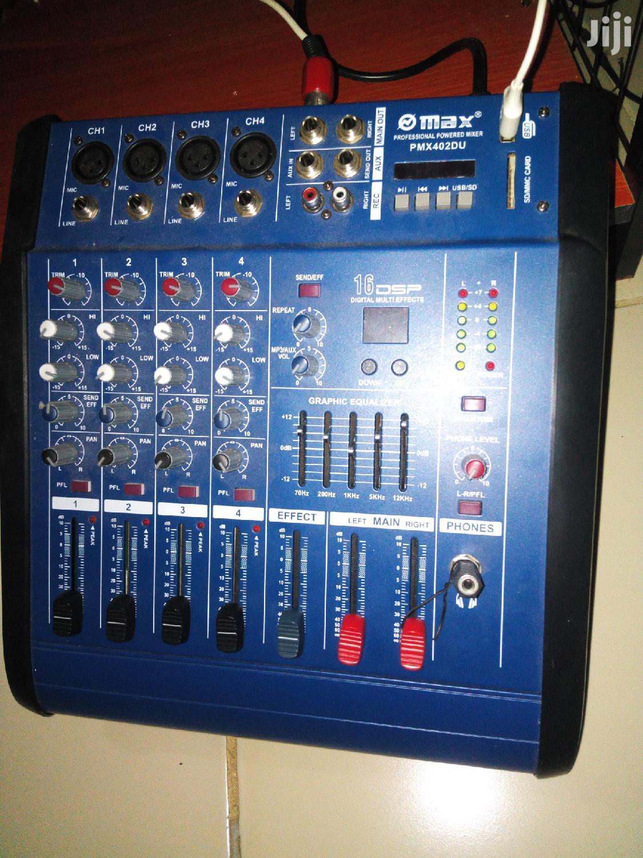 Mini Power Amplifier DJ Mixer