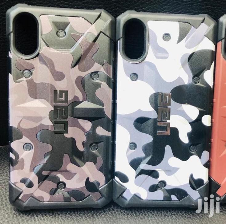 UAG Hard Case Black Transparent iPhone Xs -iphone Xs Max