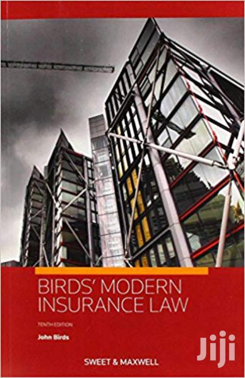 Birds' Modern Insurance Law- John Birds