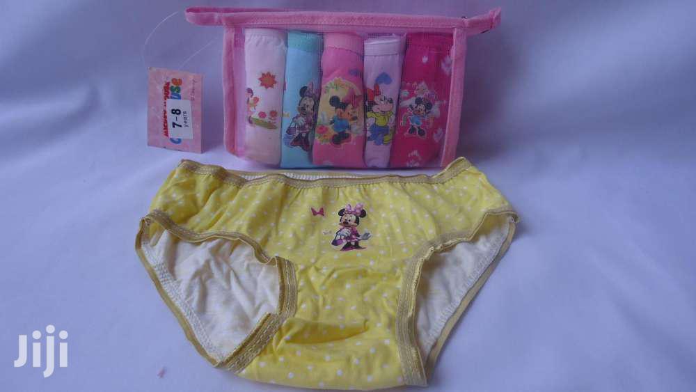 Archive: Cotton Girls Panties ( Set Of 6)
