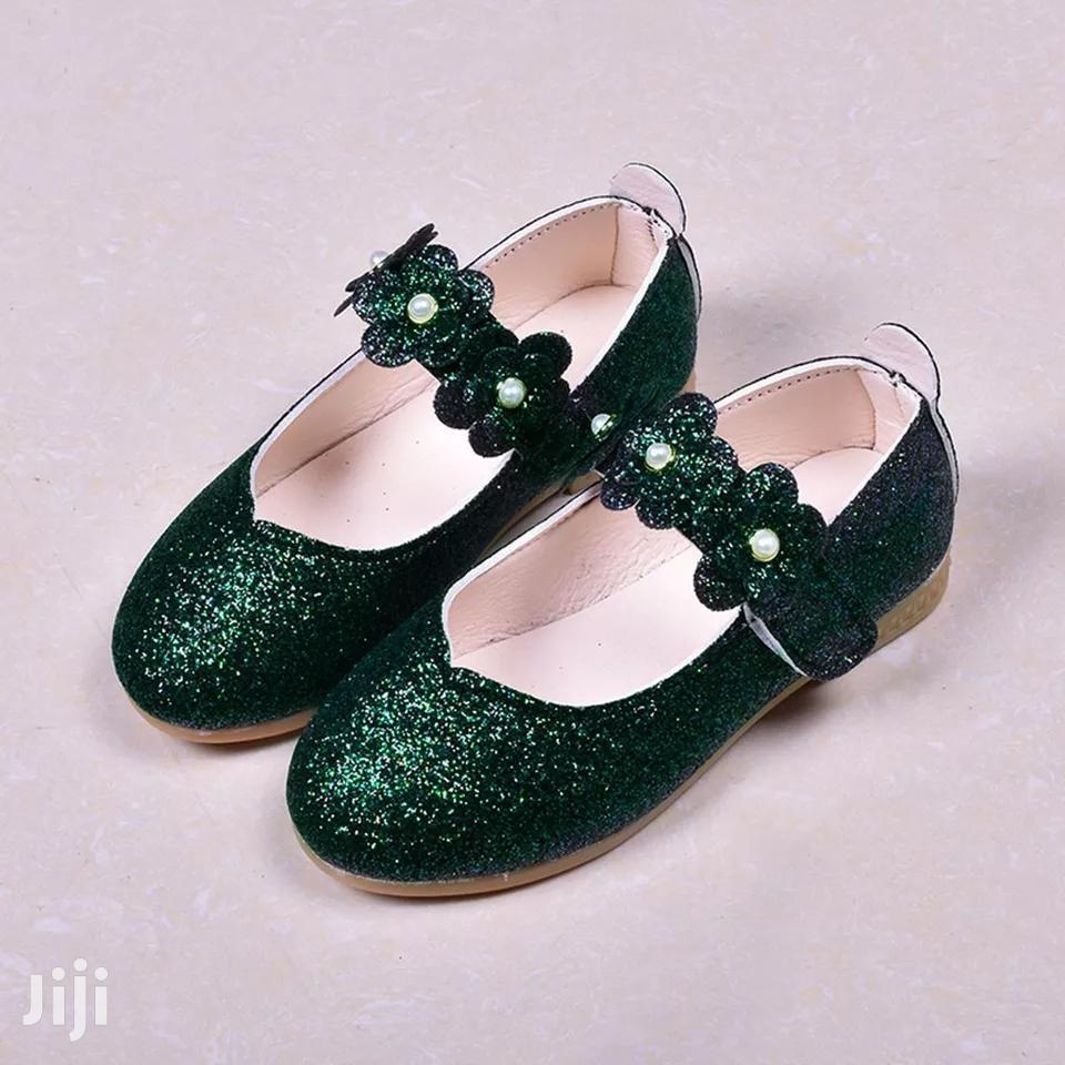 Green Girls Shoes