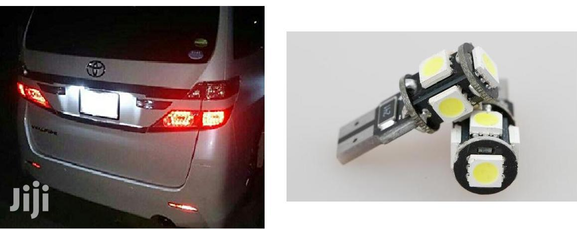 2X LED Number Plate Bulbs: White