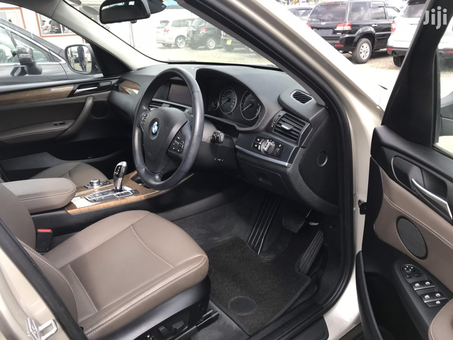 New BMW X3 2012 Gold | Cars for sale in Makina, Nairobi, Kenya