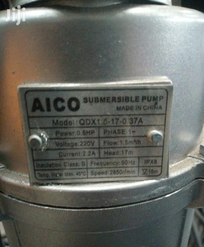 Brand New Aico Submersible Pump 1.5hp | Plumbing & Water Supply for sale in Karen, Nairobi, Kenya