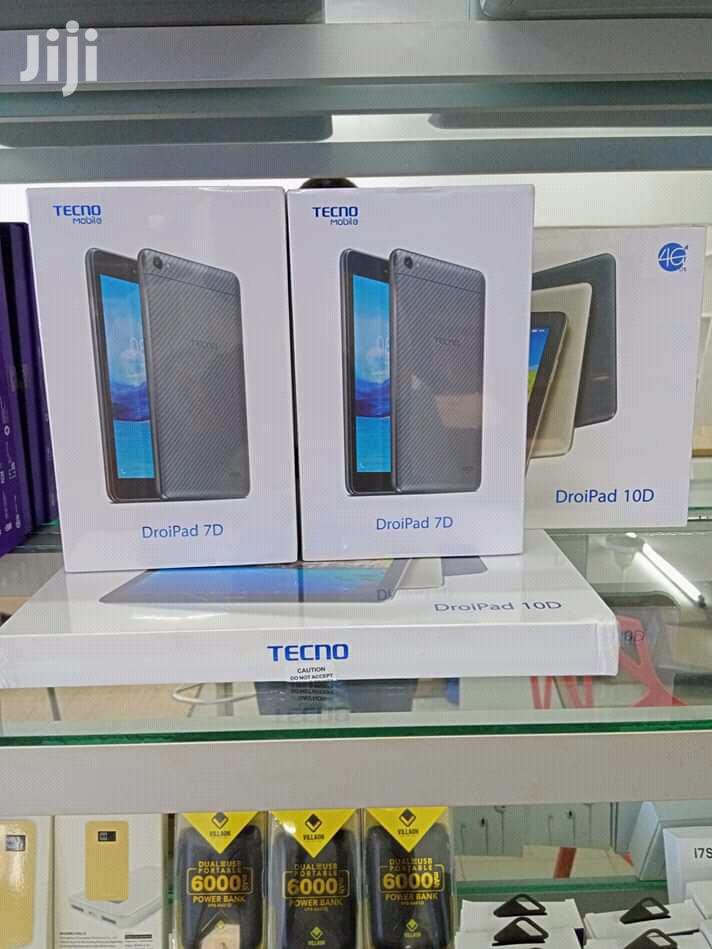 New Tecno DroidPad 7E 16 GB Silver