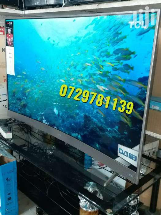 49inches TCL Curved Smart Tv.Full Wifi Enabled.Super Slim.We Deliver