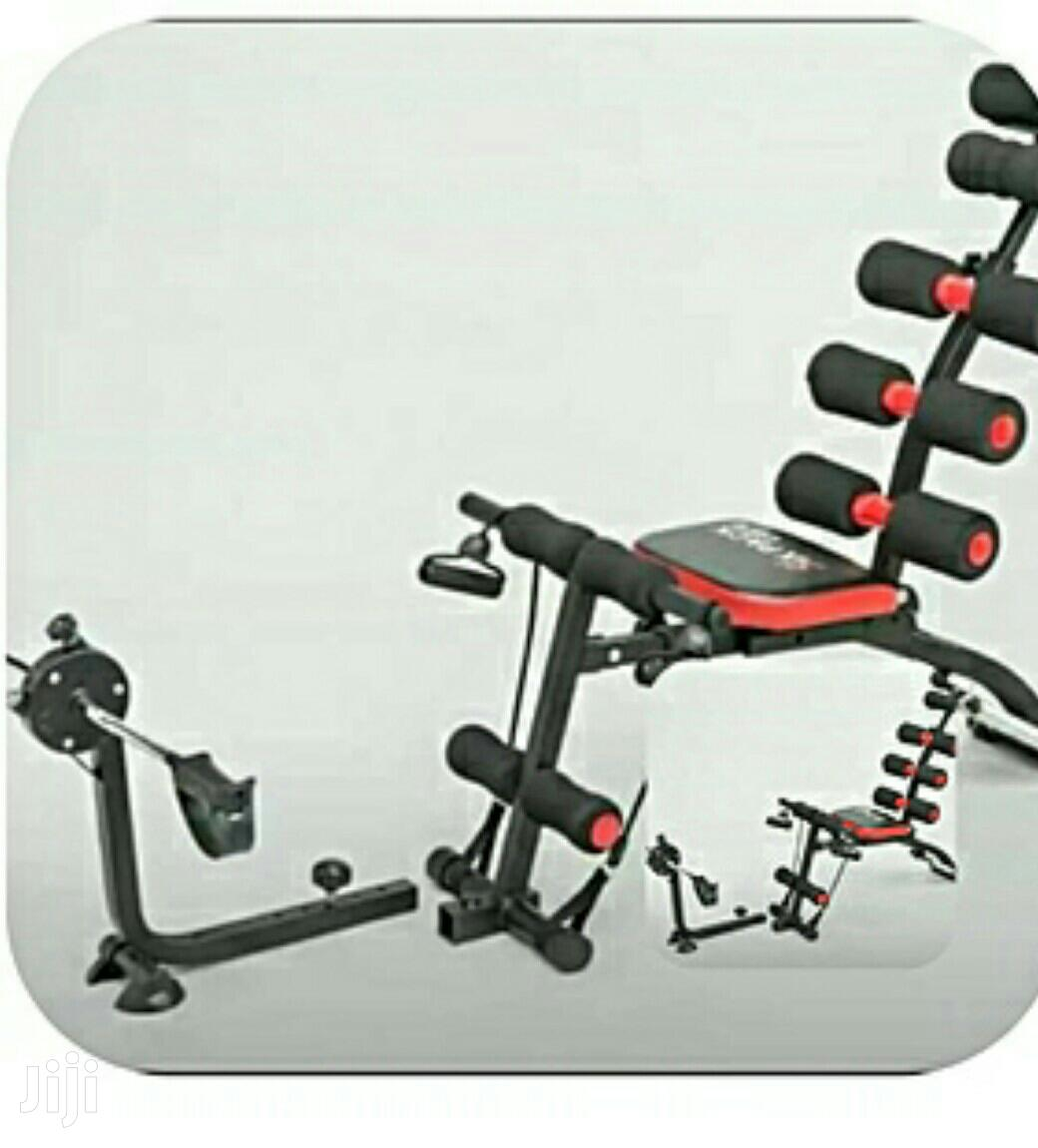Six Pack Abs Machine-with Pedals