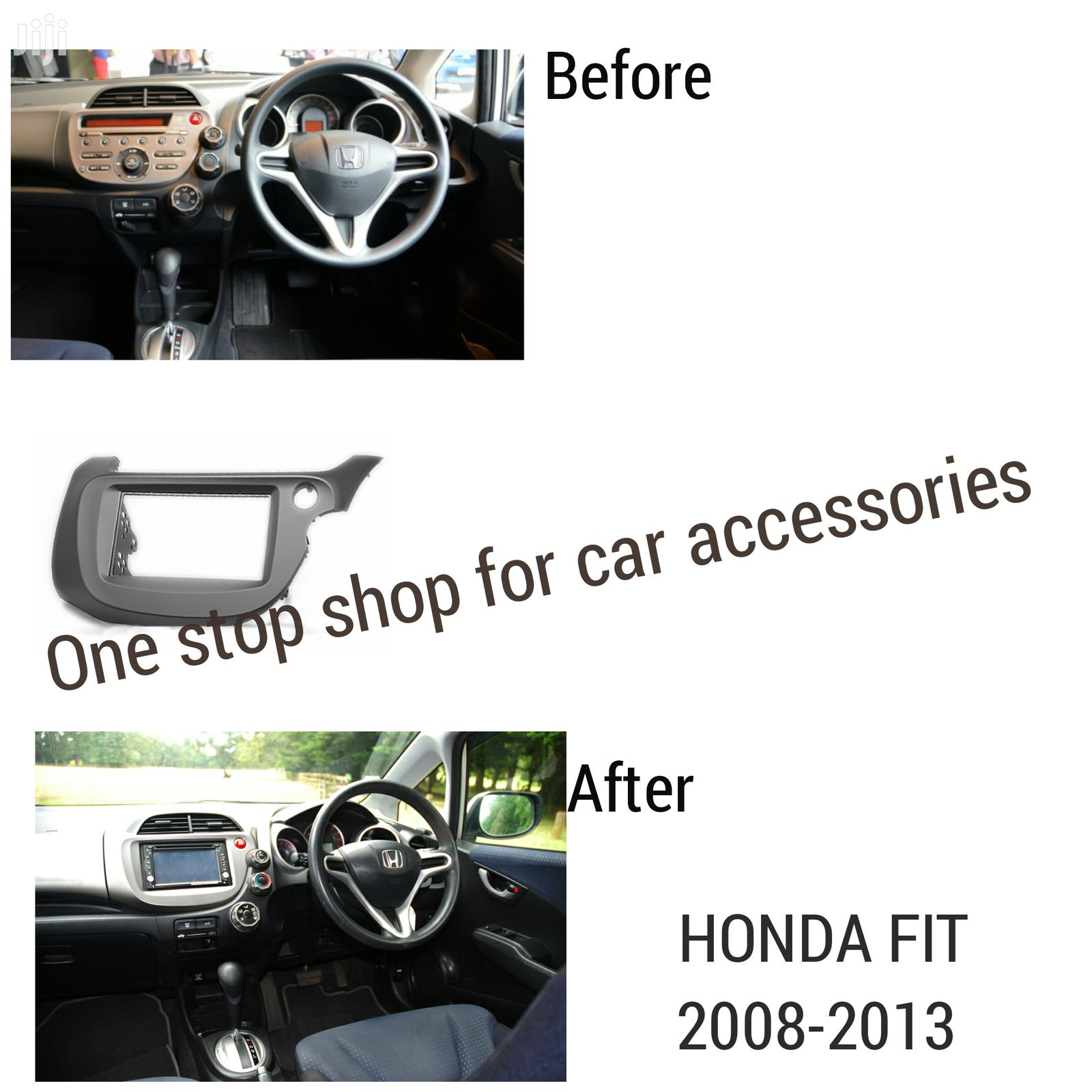 Archive: Quality Car Radio Fascia Panel For Honda Fit/Jazz Stereo Fitting