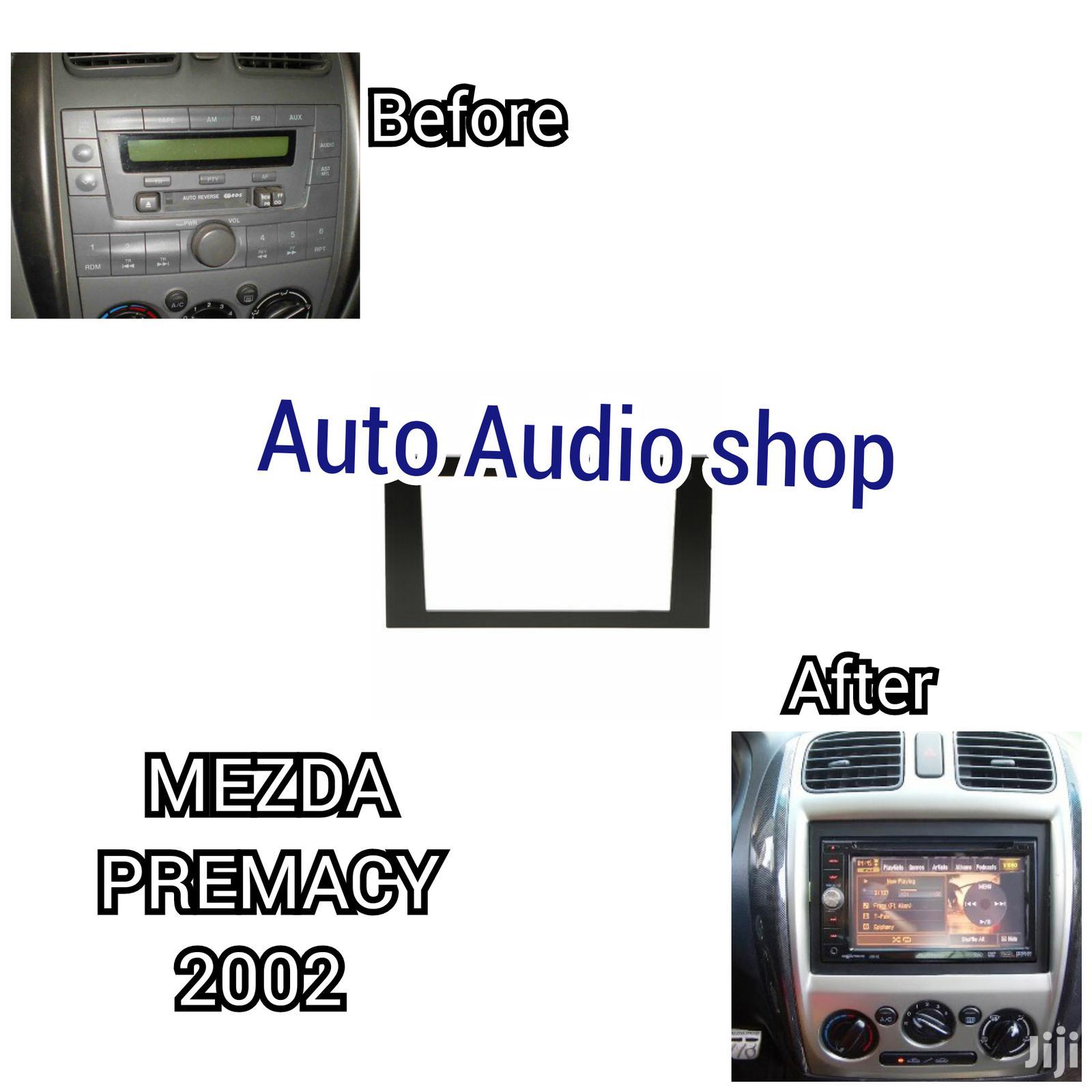 Archive: Car 2din Fascia Frame for Mazda Premacy Stereo Radio Fascia
