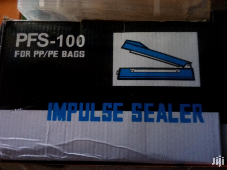 100mm Impulse Paper Sealer