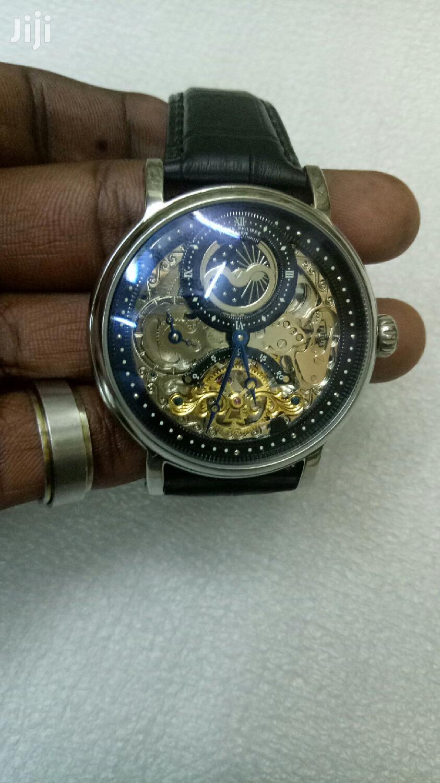 Mechanical Patek Phillipe Skeleton Watch