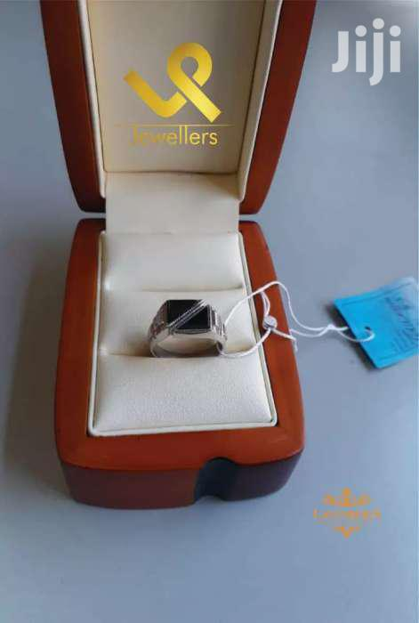 Double Walled N Top Men Solid  Silver Ring   Jewelry for sale in Donholm, Nairobi, Kenya