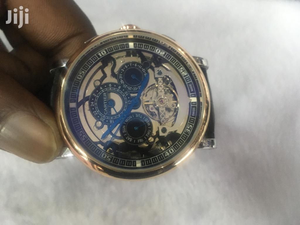 Mechanical Cartier Watch