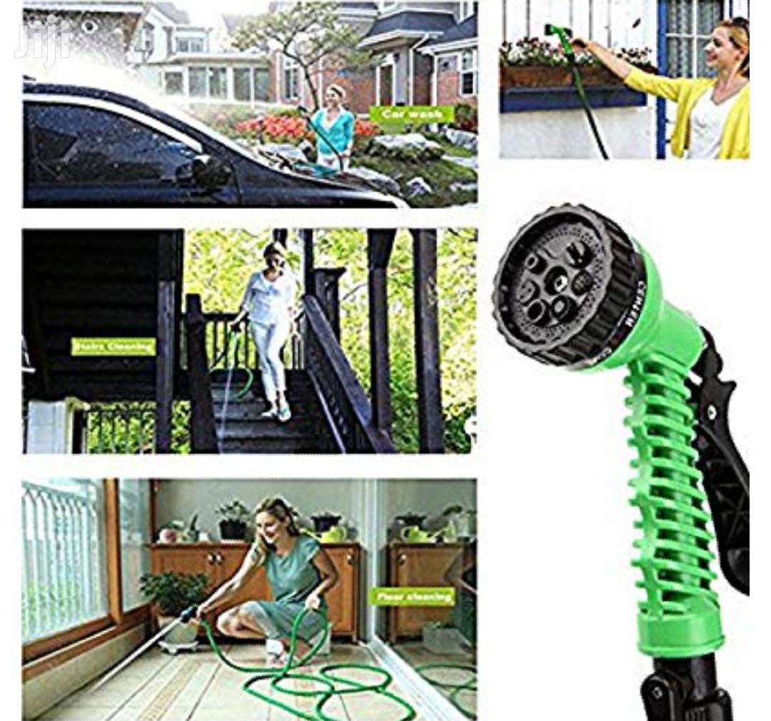 Flexible Expandable Pipe Garden Hose 7 Function Water Gun | Plumbing & Water Supply for sale in Nairobi Central, Nairobi, Kenya