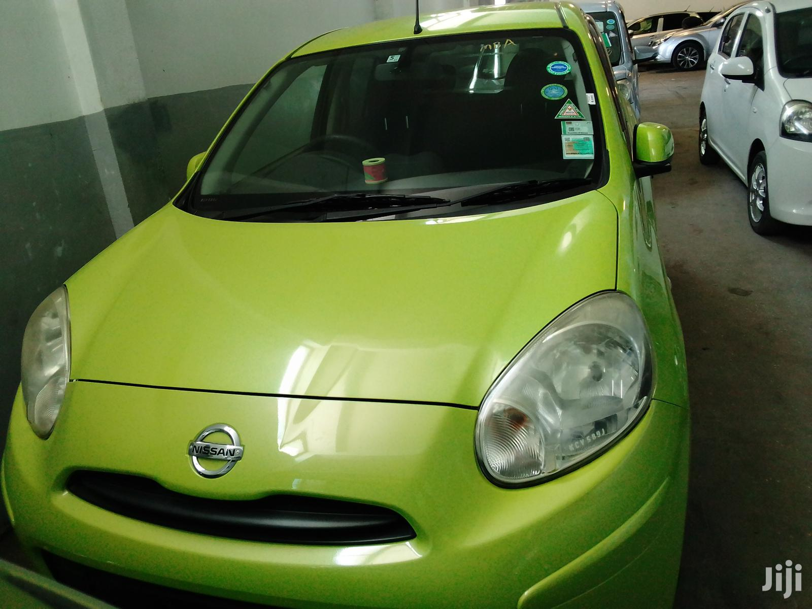 Nissan March 2011 Green