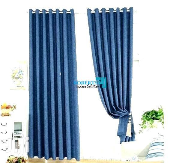 Plain Blue Linen Curtain | Home Accessories for sale in Nairobi Central, Nairobi, Kenya