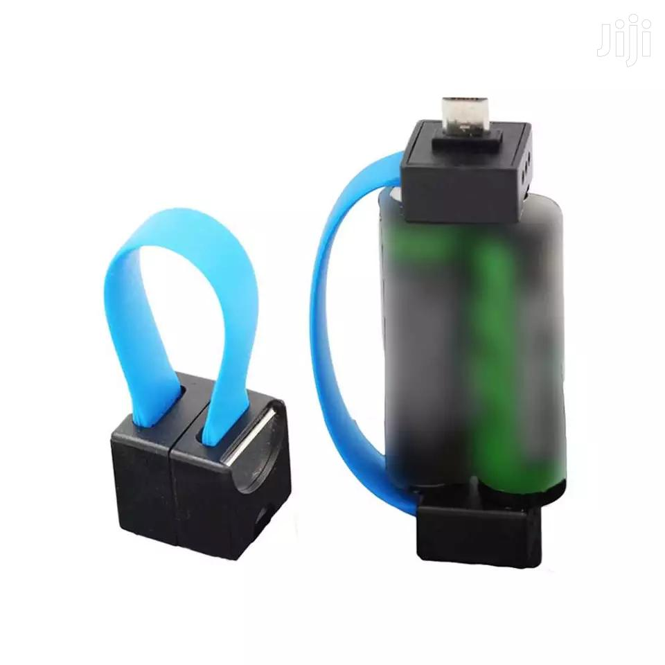 Archive: Portable Magnetic 2 AA Battery Powered Smallest Micro USB Emergency