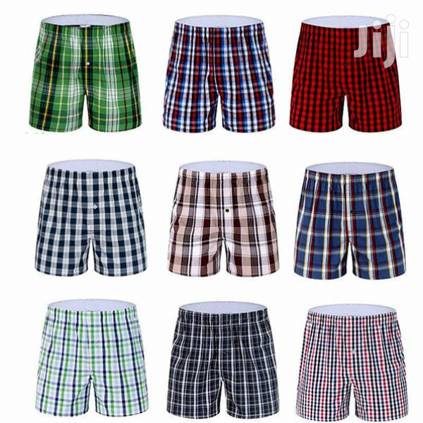 Archive: 6pack Pure COTTON Checked Men Boxers