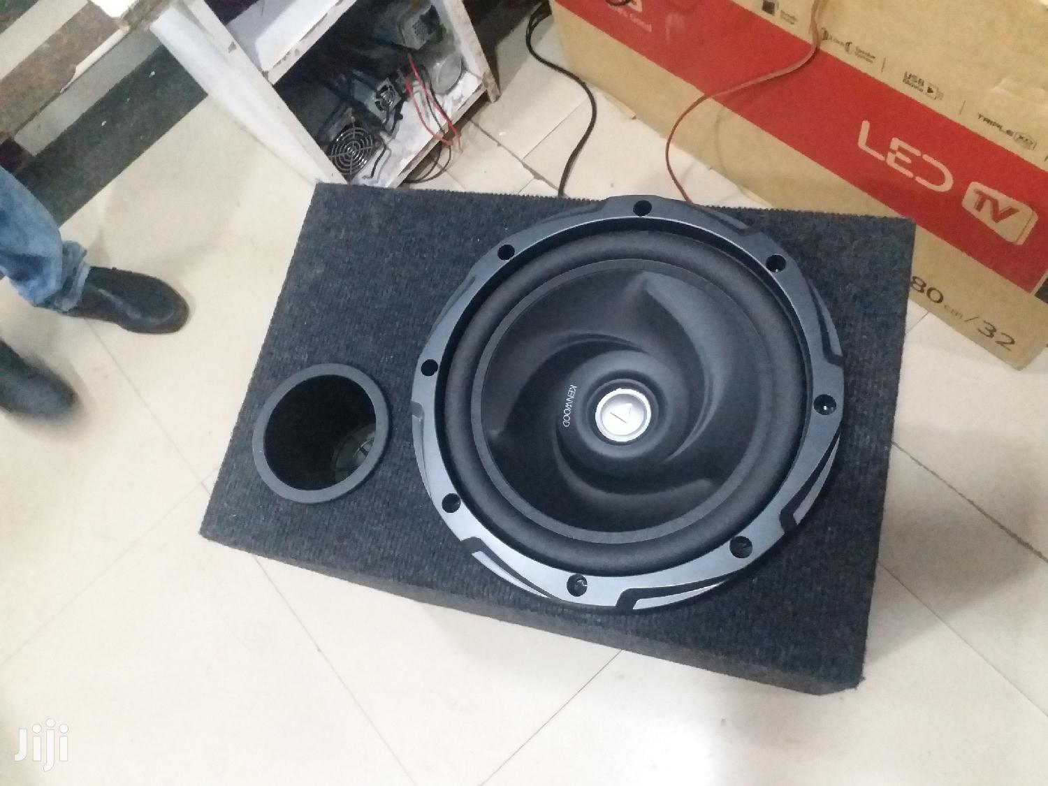 Spice Up The Bass From Your Hometheater With Kenwoood 1000watts Woofer