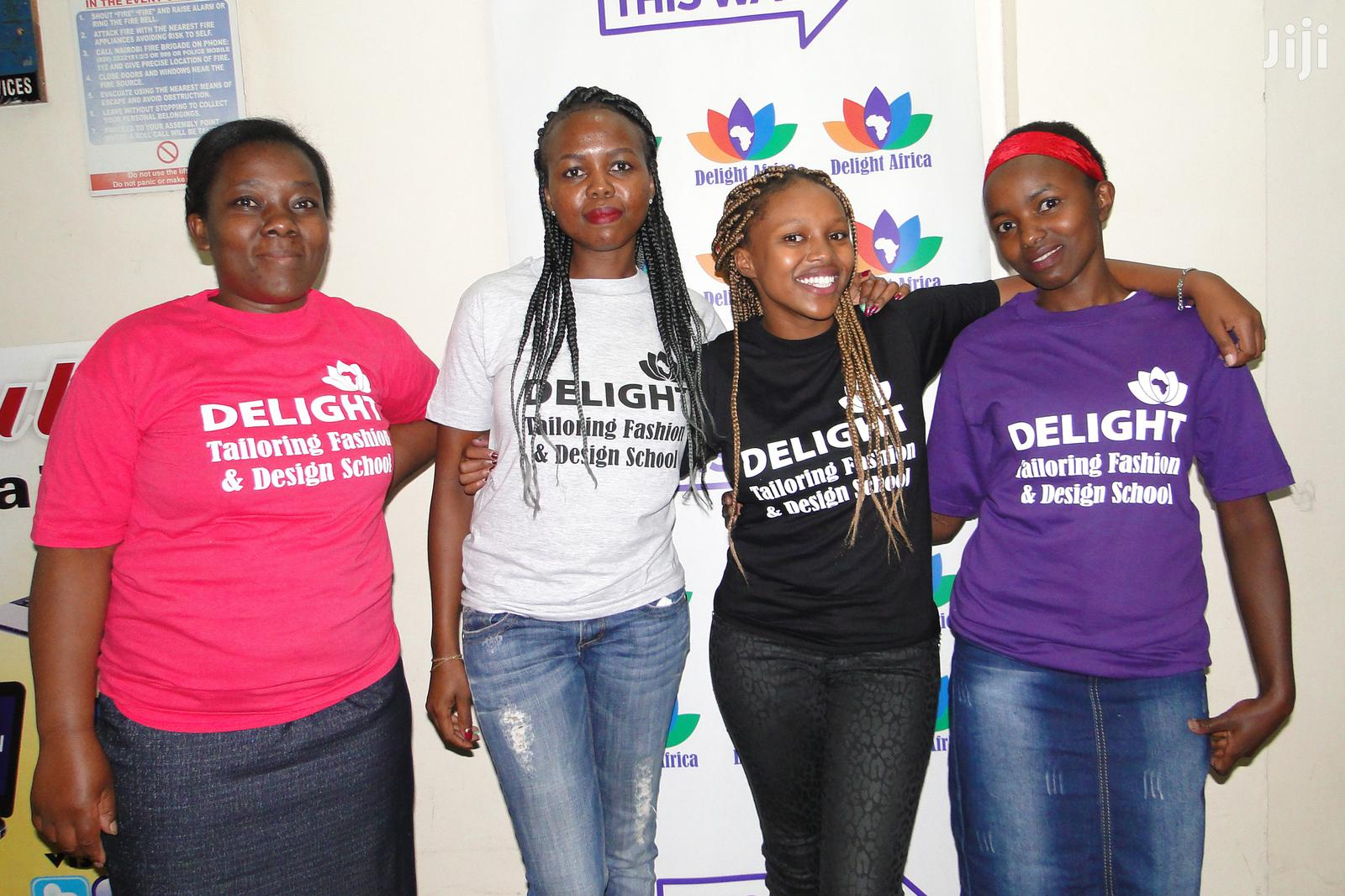 Delight Tailoring Fashion And Design School Dressmaking Classes In Nairobi Central Classes Courses Delight Africa Kate Jiji Co Ke In Nairobi Central Classes Courses Services From Delight Africa Kate