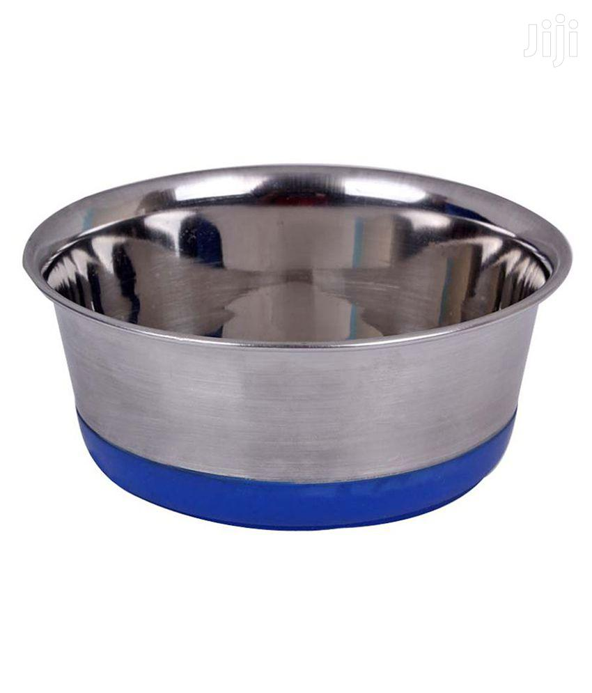 Archive: Stainless Steel Dog Feeding Bowls With Anti Skid Base