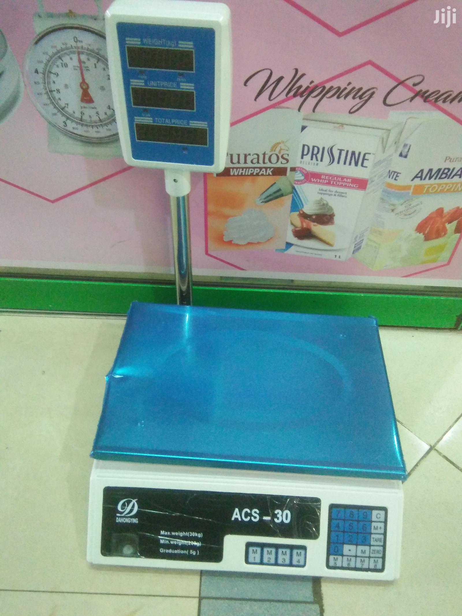 30kg Digital Weighing Scale Butchery, Fruits, Cereals Scale