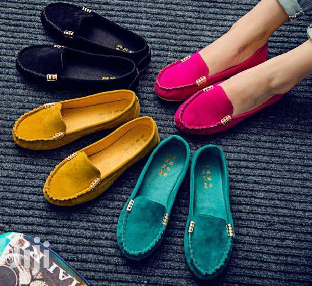 Women Flat Shoes Suede