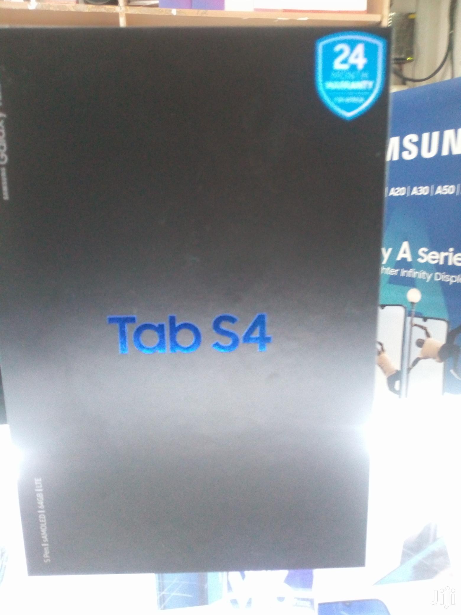 New Samsung Galaxy Tab S4 64 GB Black | Tablets for sale in Nairobi Central, Nairobi, Kenya