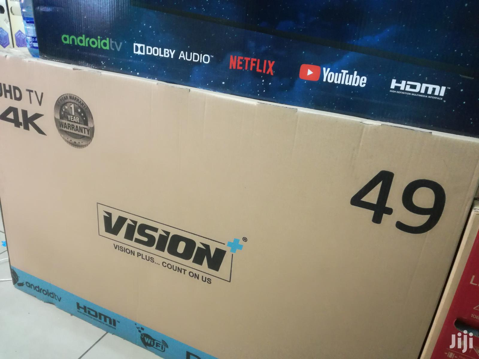 Archive: 49 Inch Vision Plus Smart Android UHD 4K LED Tv