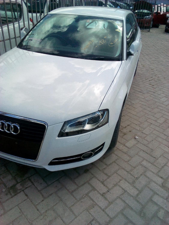 Audi A3 2012 White
