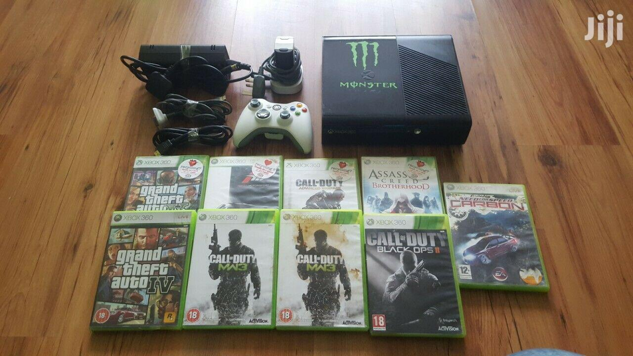 Selling Xbox 360 Machine With Games