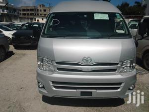 Toyota HiAce 2012 Silver   Buses & Microbuses for sale in Nyali, Ziwa la Ngombe
