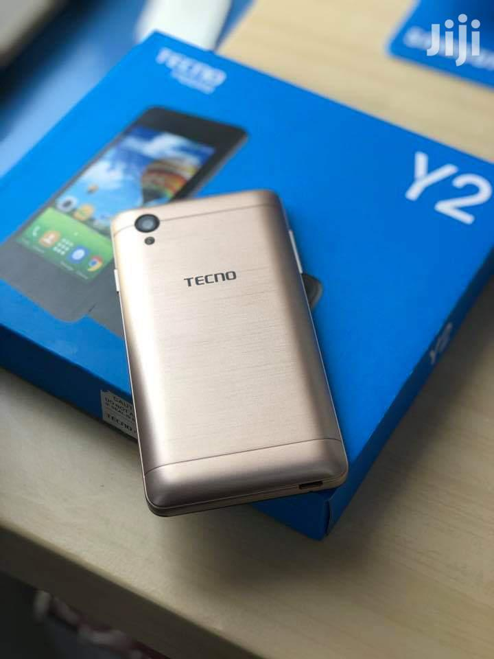 New Tecno Y2 8 GB Gold | Mobile Phones for sale in Kimumu, Uasin Gishu, Kenya