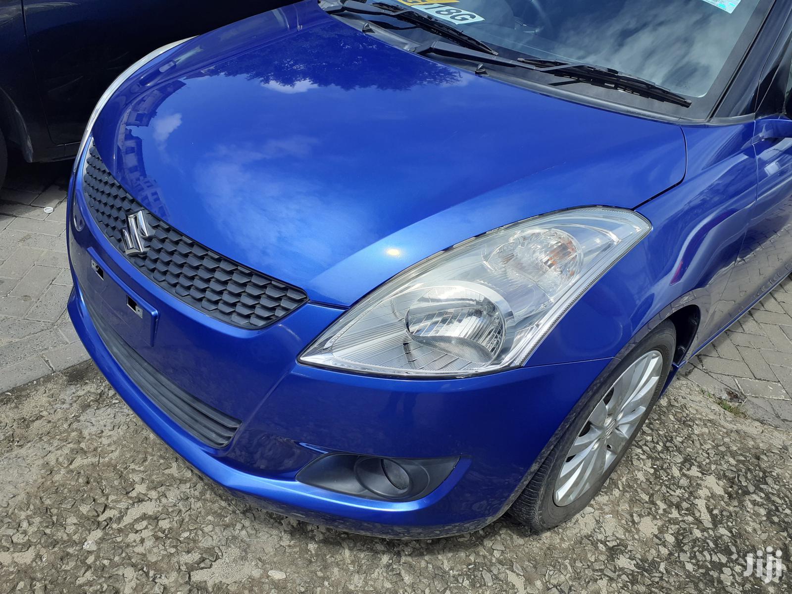 Suzuki Swift 2012 1.4 Blue | Cars for sale in Moi Avenue, Mombasa, Kenya