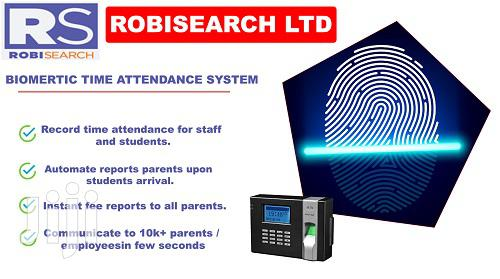 Archive: Biometric Time Attendance System