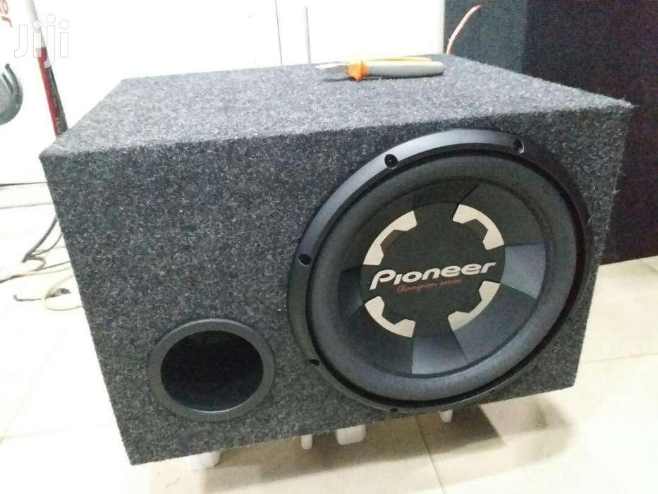 Pioneer 1400 Watts Double Coil Subwoofer In A Cabinet Deep Bass