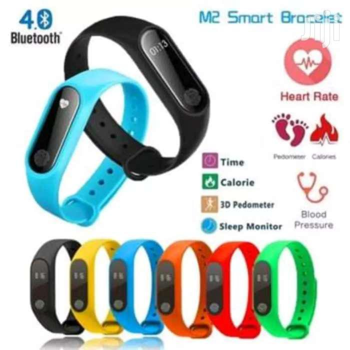 M2 And M3 Health Smart Watch Heart Rate Measure