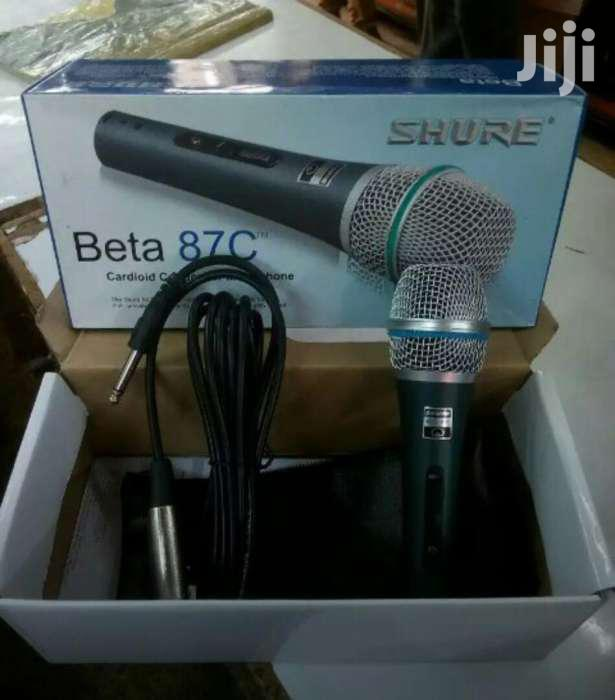 Archive: Shure Wired Microphone