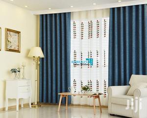 Blue Plain Linen Curtain   Home Accessories for sale in Nairobi, Nairobi Central