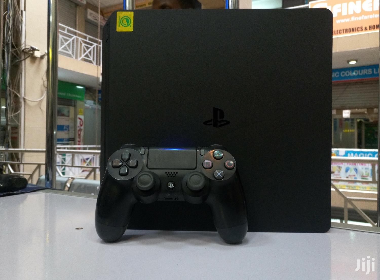 Ps4 Slim 500gb Used Abroad Console