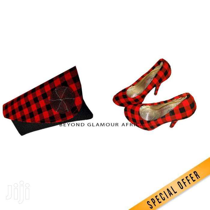 Clutch Bag + Heels Combo