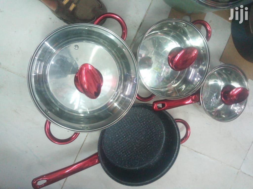 Induction Cooking Sufuria/7p Stainless Steel Induction Cooking Sufuria   Kitchen & Dining for sale in Nairobi Central, Nairobi, Kenya