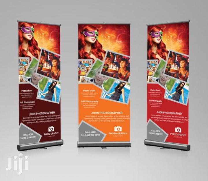 High Resolution Roll Up Banner Printing Full Color