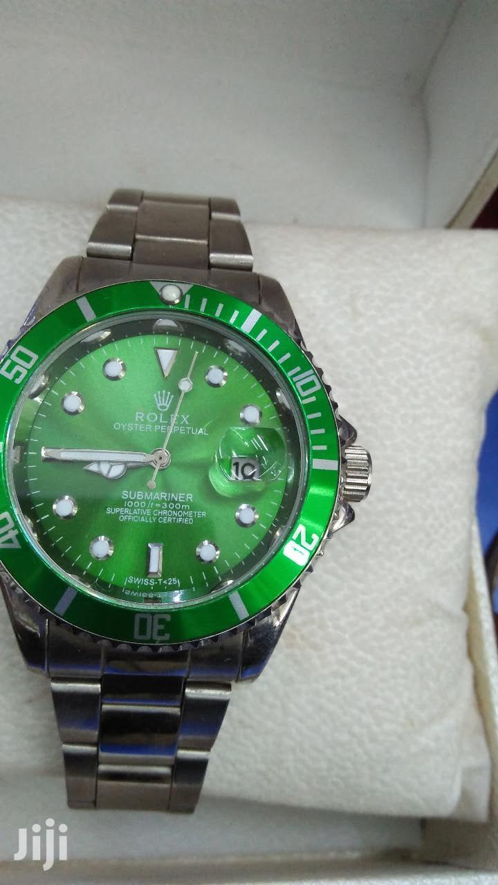 Green Rolex Gents Watch